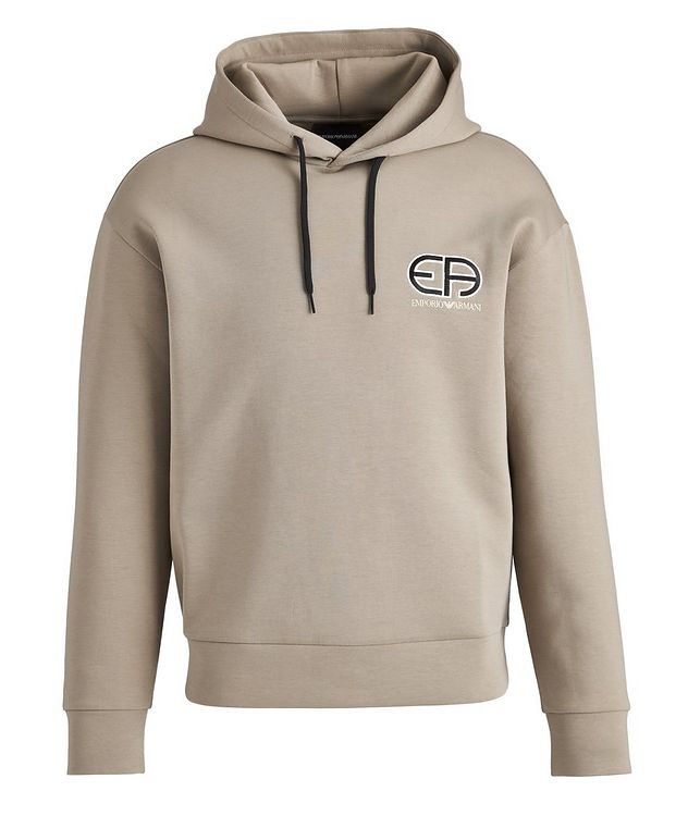 R-EA Logo Cotton-Blend Hoodie picture 1
