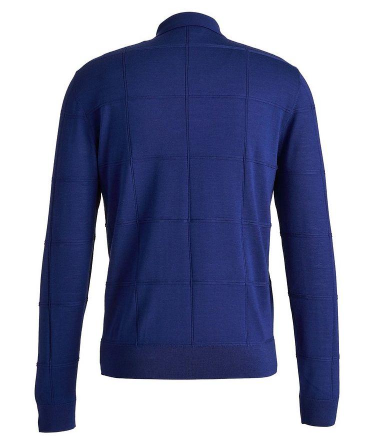 Long Sleeve Virgin Wool Polo image 1