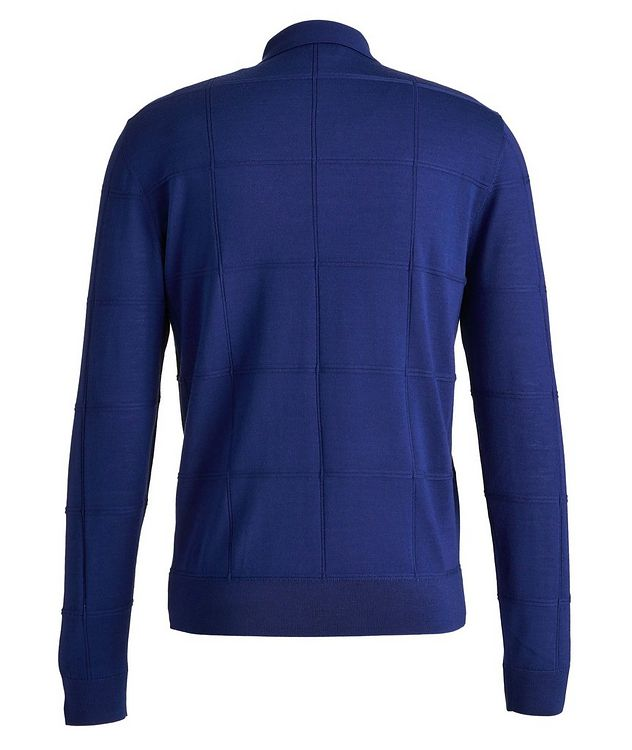 Long Sleeve Virgin Wool Polo picture 2