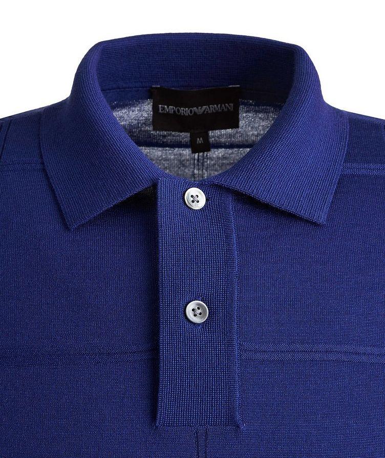 Long Sleeve Virgin Wool Polo image 2