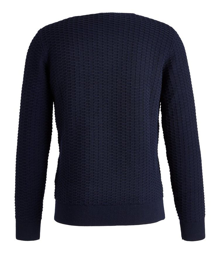 Textured Knit Wool-Blend Sweater image 1