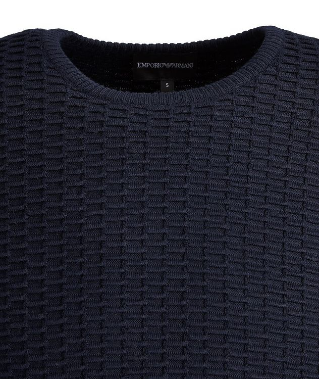 Textured Knit Wool-Blend Sweater picture 3