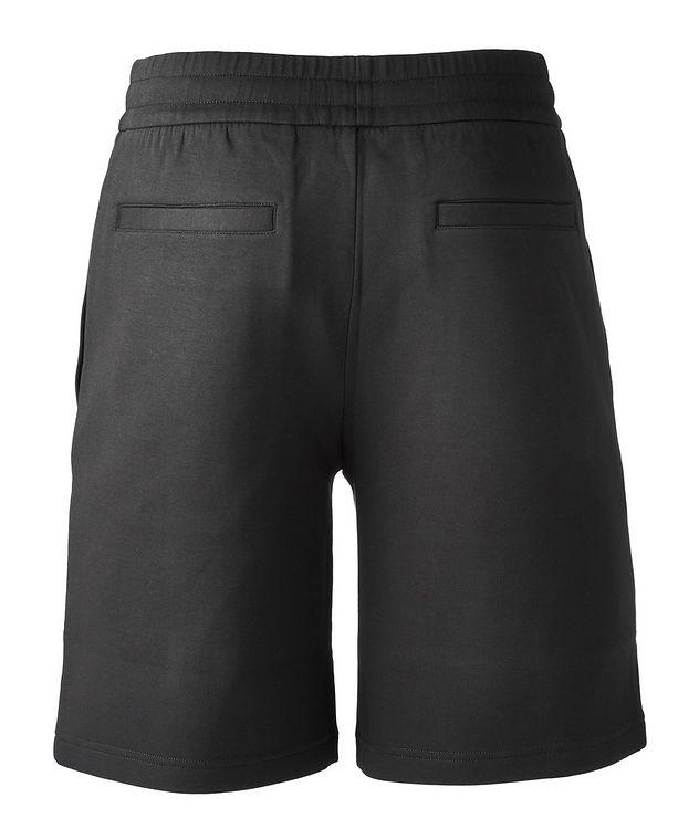 Stretch-Cotton Logo Shorts picture 2