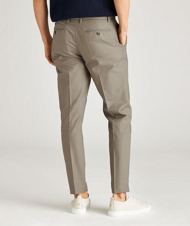 Slim-Fit Stretch-Cotton Dress Pants picture 3