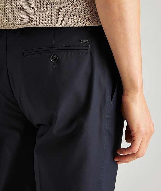 Slim-Fit Stretch-Cotton Dress Pants picture 4