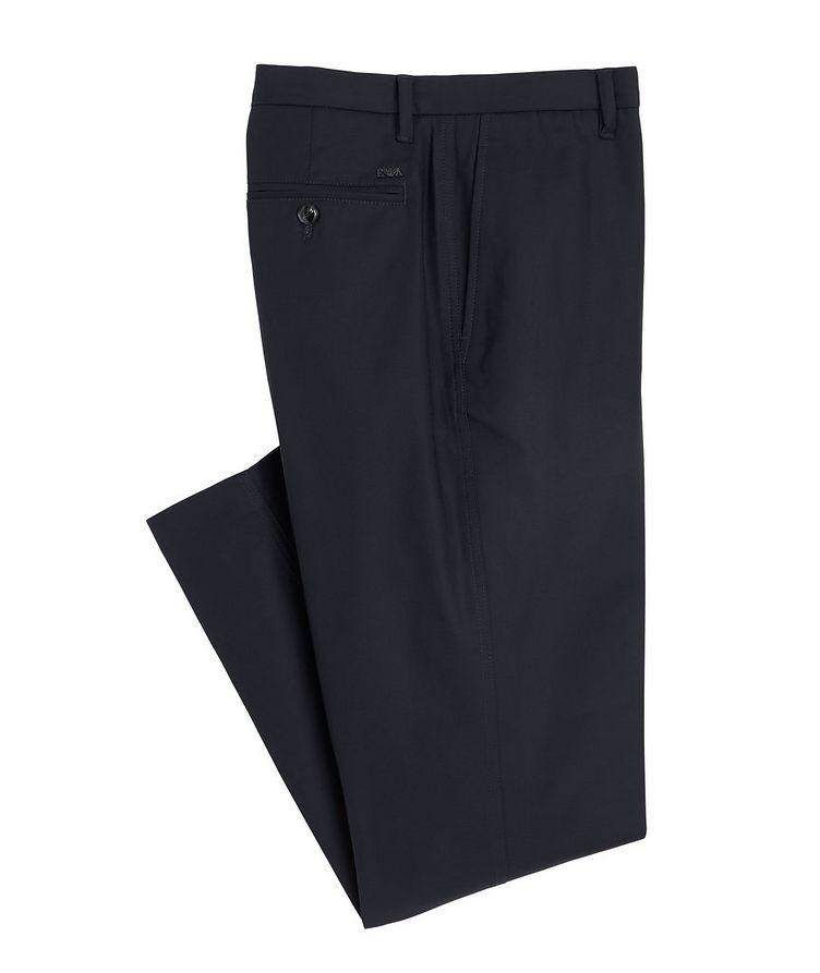 Slim-Fit Stretch-Cotton Dress Pants image 0
