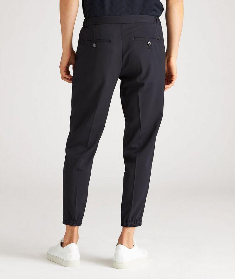 Pantalon habillé en laine extensible à cordon image 2