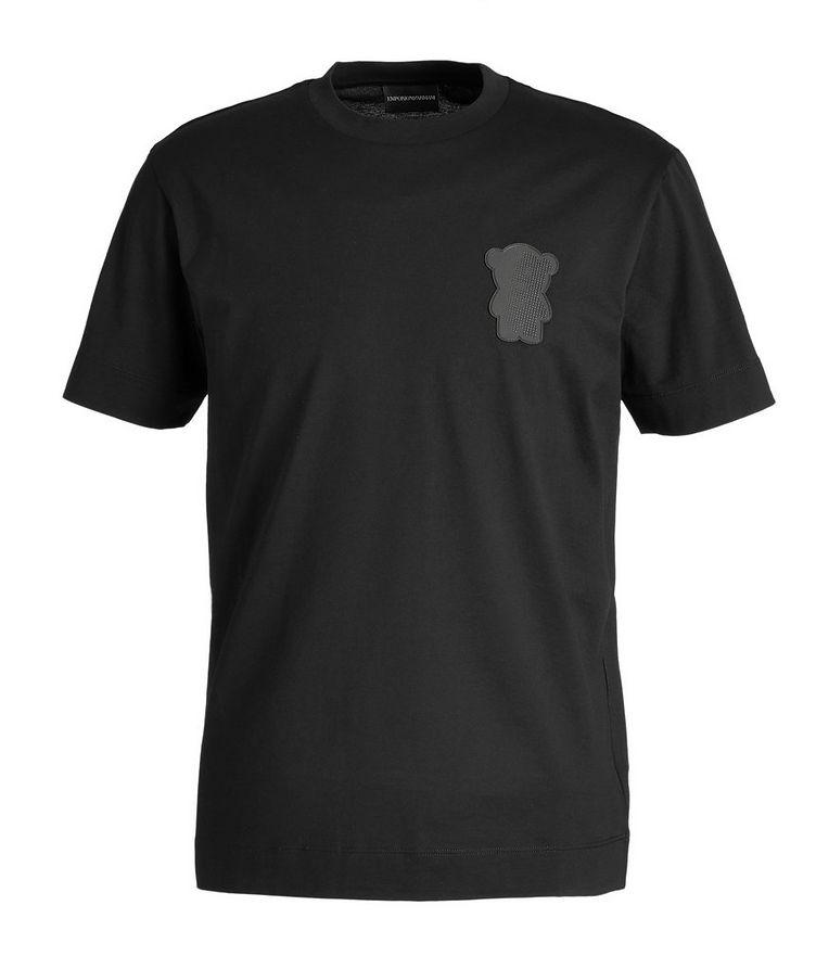 Manga Bear Cotton T-Shirt image 0
