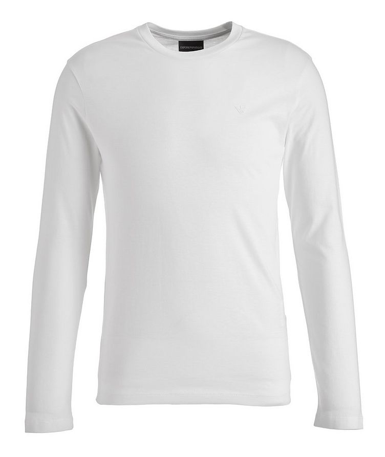 Travel Essentials Long-Sleeve Supima Cotton T-Shirt image 0