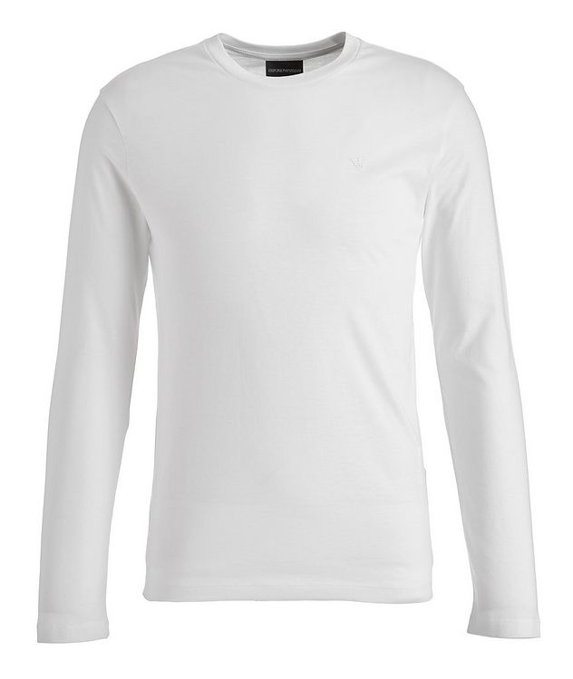 Travel Essentials Long-Sleeve Supima Cotton T-Shirt picture 1