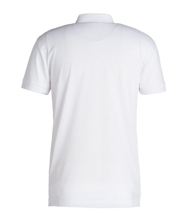 EA7 Cotton-Blend Polo image 1
