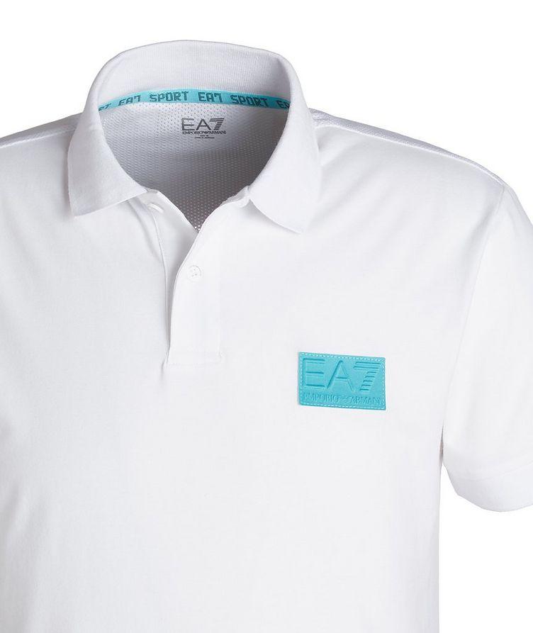 EA7 Cotton-Blend Polo image 2