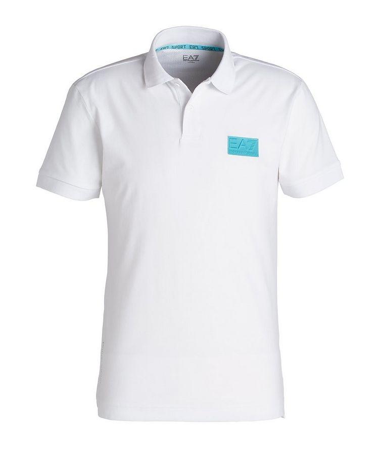 EA7 Cotton-Blend Polo image 0