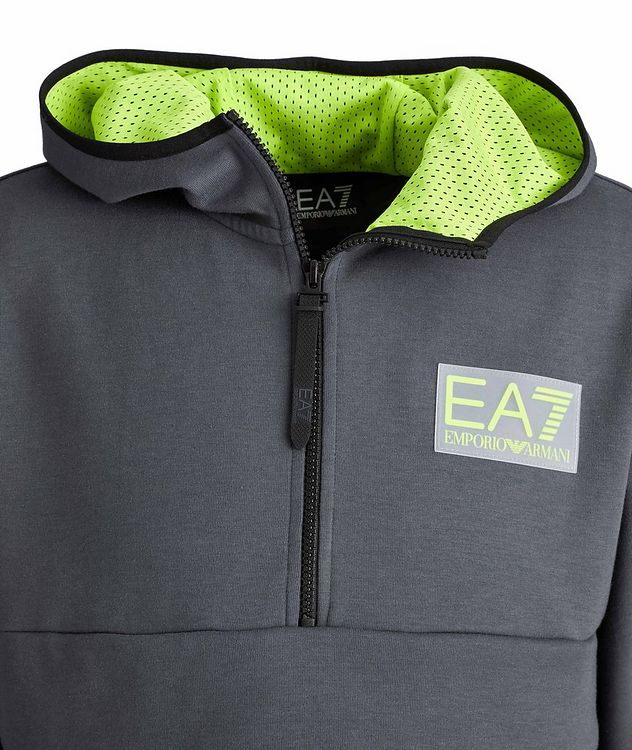 EA Cotton-Blend Anorak Hoodie picture 3