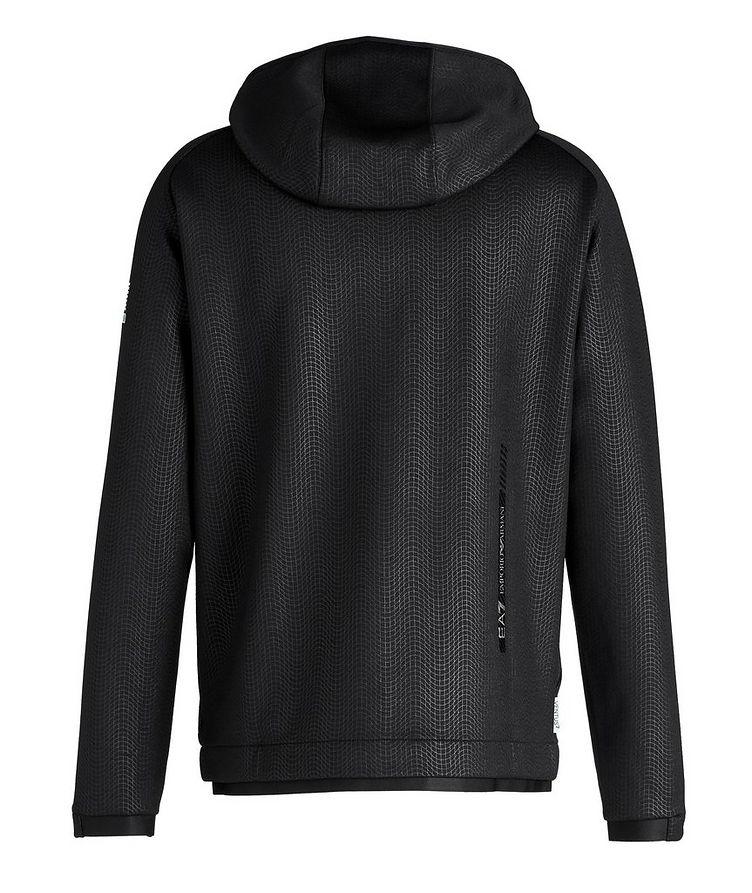 Stretch Knit Hooded Jacket image 1