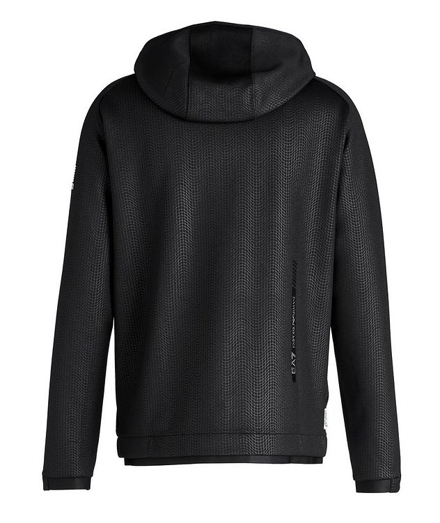 Stretch Knit Hooded Jacket picture 2