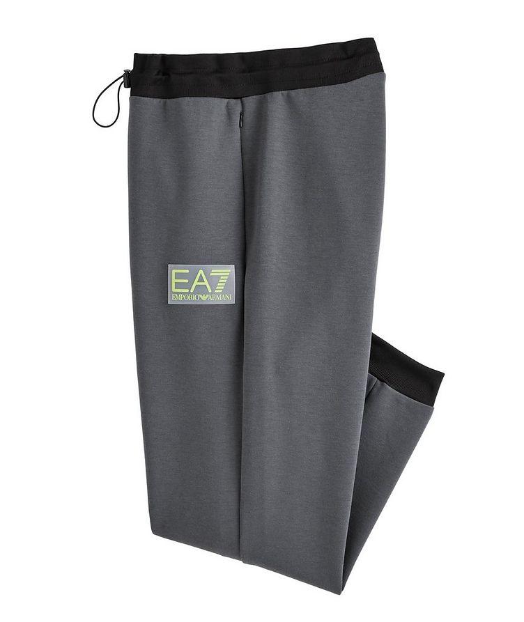 EA7 Cotton-Blend Joggers image 0