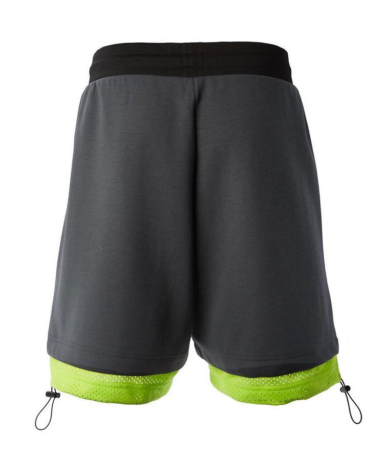Cotton-Blend Jersey Bermuda Shorts image 1