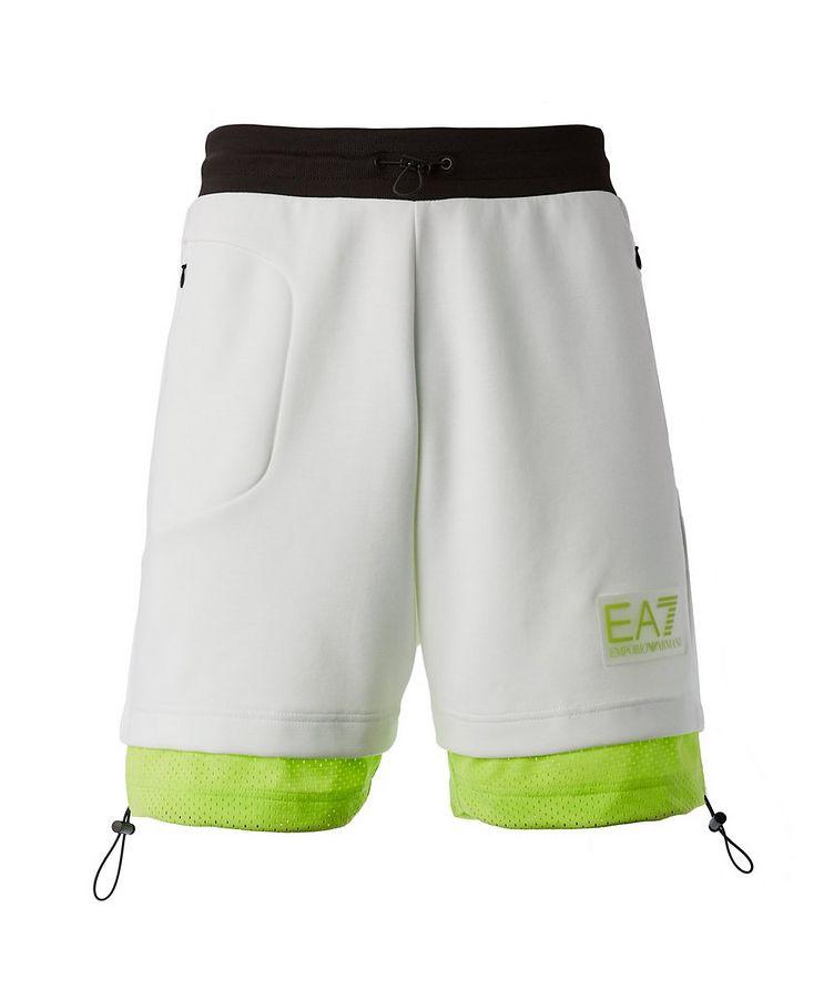 Cotton-Blend Jersey Bermuda Shorts image 0