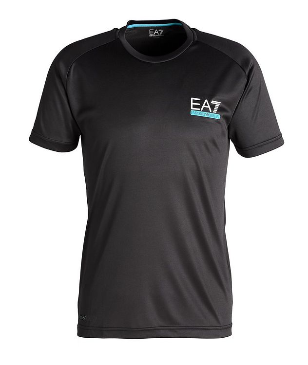EA7 Logo Stretch T-Shirt picture 1