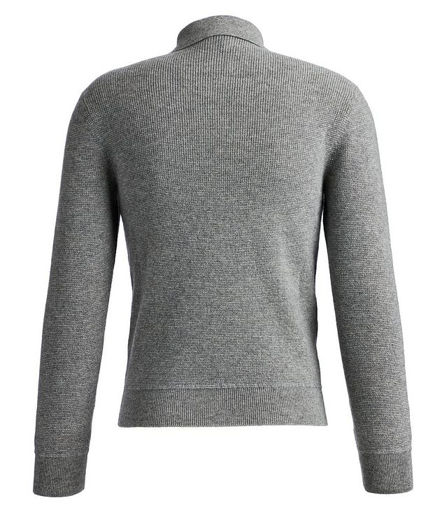 Zip-Up Cashmere Sweater picture 2