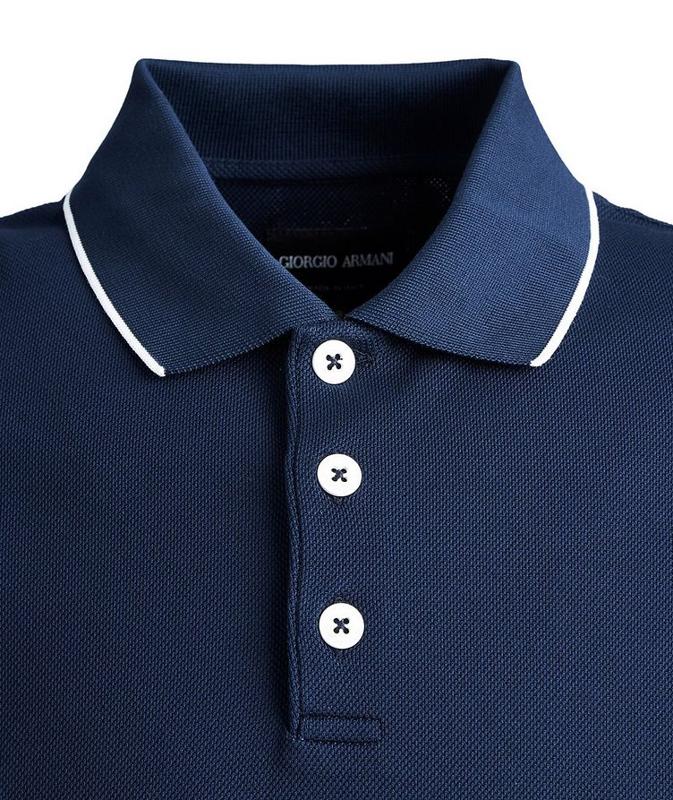 Ribbed Cotton Polo image 1