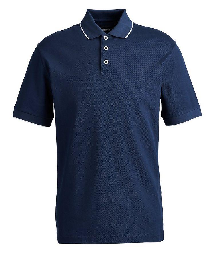 Ribbed Cotton Polo image 0