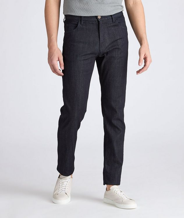 J25 Tapered Stretch Jeans picture 2