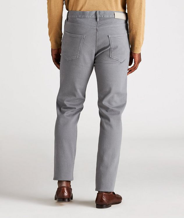 J25 Tapered-Fit Stretch Cotton-Lyocell Jeans picture 3