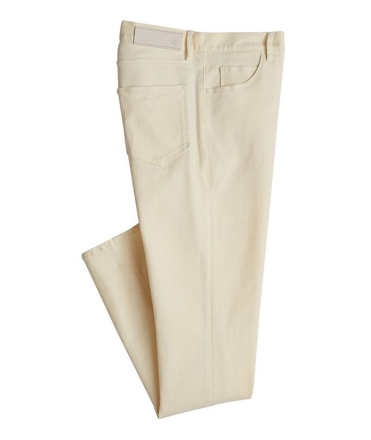 J25 Tapered-Fit Stretch Cotton-Lyocell Jeans image 0