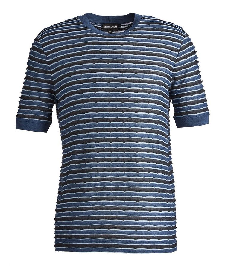 Striped Stretch T-Shirt image 0