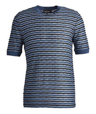 Giorgio Armani Striped Stretch T-Shirt