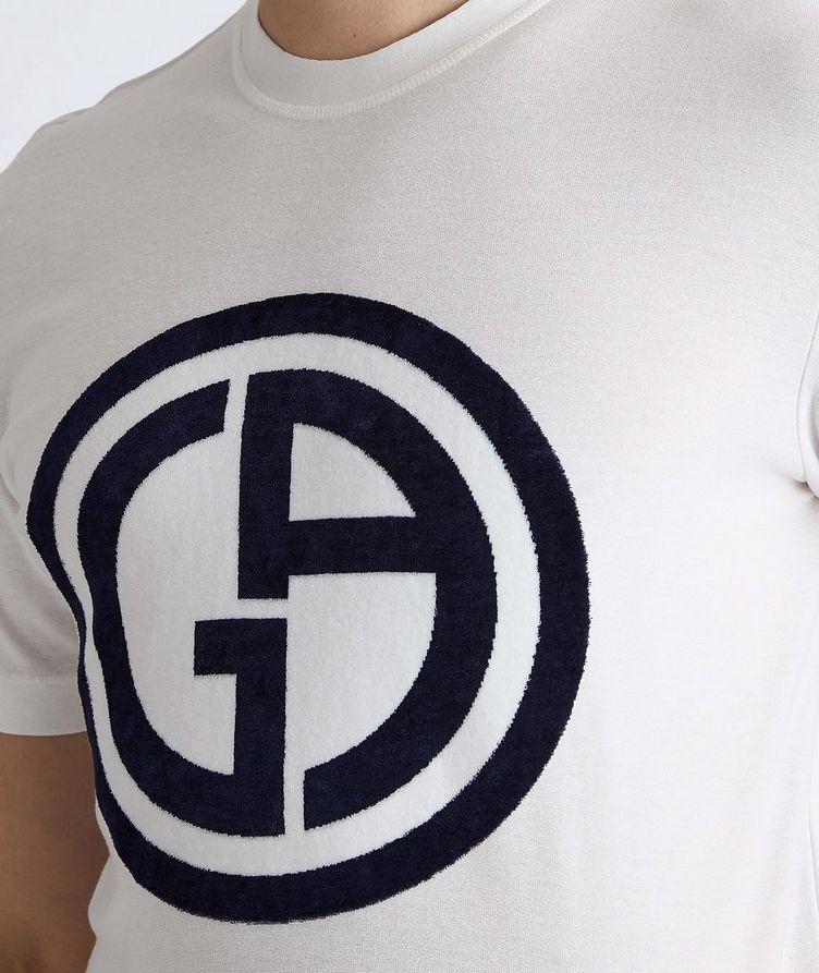 Slim-Fit Logo Knit T-Shirt image 3