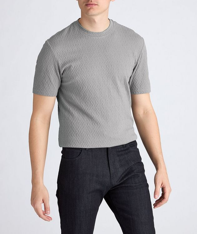 Slim-Fit Stretch-Blend T-Shirt picture 4