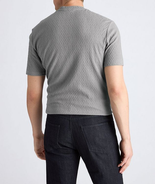 Slim-Fit Stretch-Blend T-Shirt picture 5