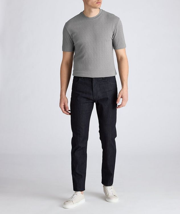 Slim-Fit Stretch-Blend T-Shirt picture 6