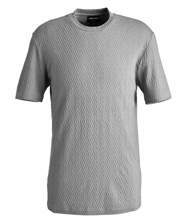 Slim-Fit Stretch-Blend T-Shirt picture 1