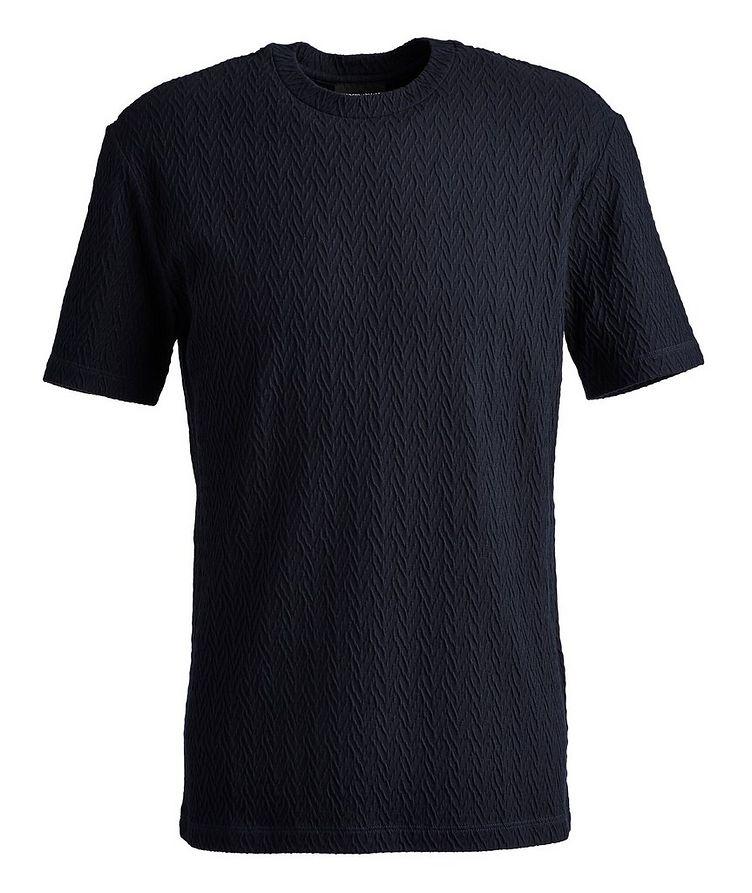 Slim-Fit Stretch-Blend T-Shirt image 0