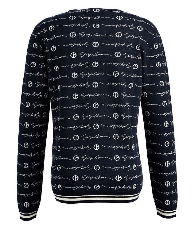 Printed Wool Sweater picture 2