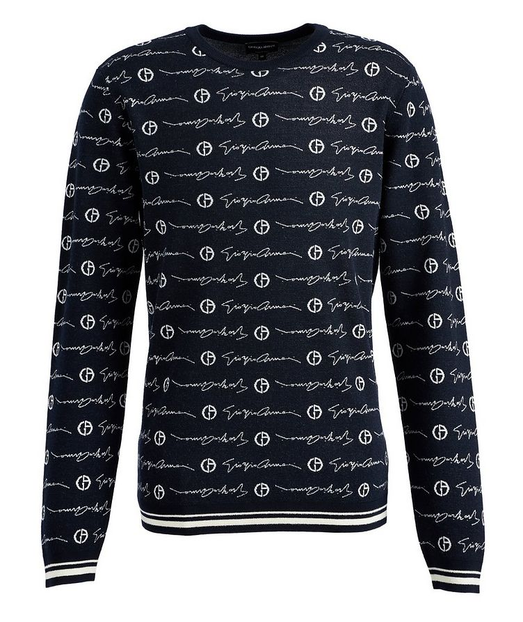 Printed Wool Sweater image 0
