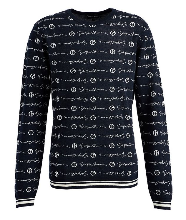 Printed Wool Sweater picture 1