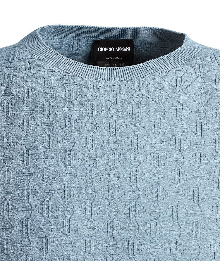 Slim-Fit Textured Sweater image 1