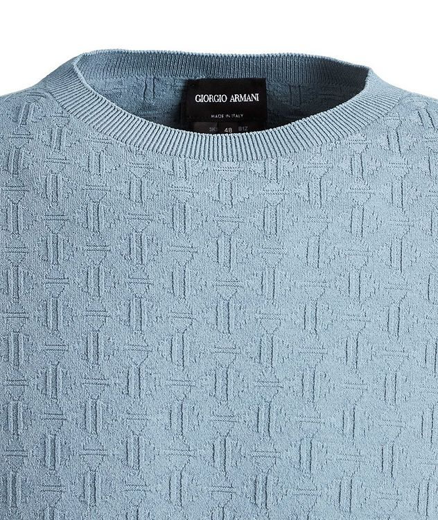 Slim-Fit Textured Sweater picture 2