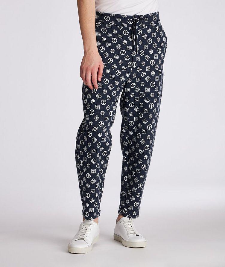 Printed Cotton-Blend Pants image 1