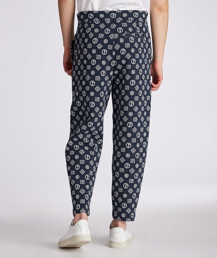 Printed Cotton-Blend Pants image 2