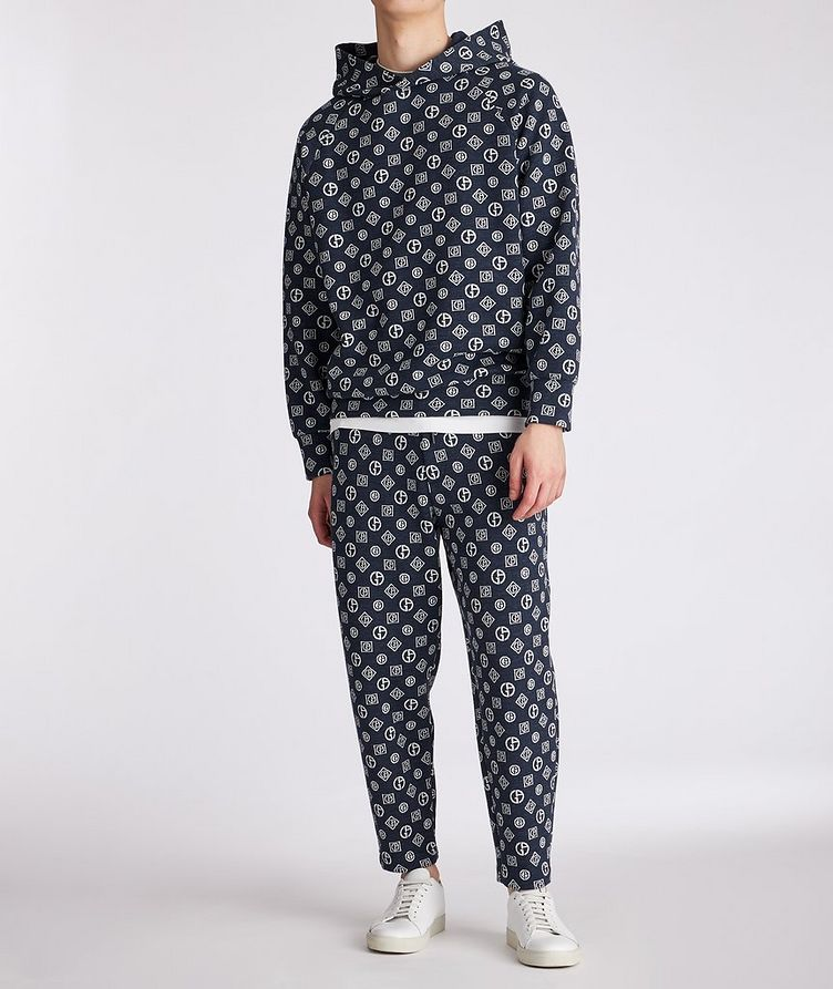 Printed Cotton-Blend Pants image 4