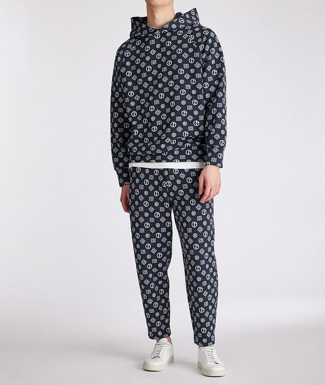 Printed Cotton-Blend Pants picture 5