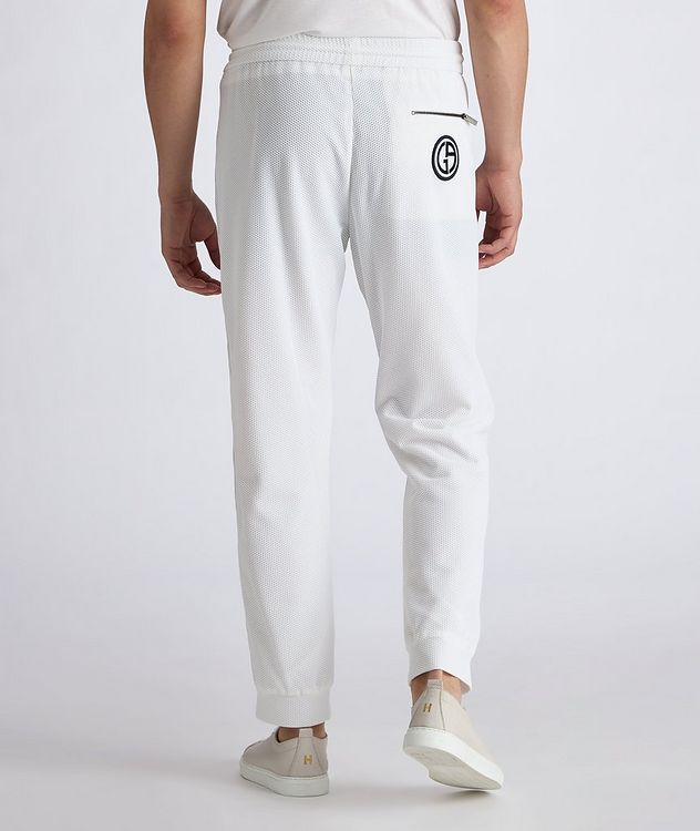 Waffle-Knit Track Pants picture 3