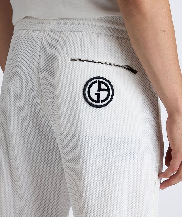Waffle-Knit Track Pants picture 4