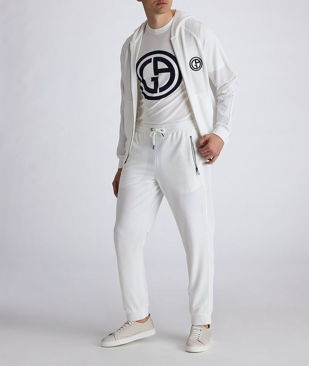 Waffle-Knit Track Pants picture 5